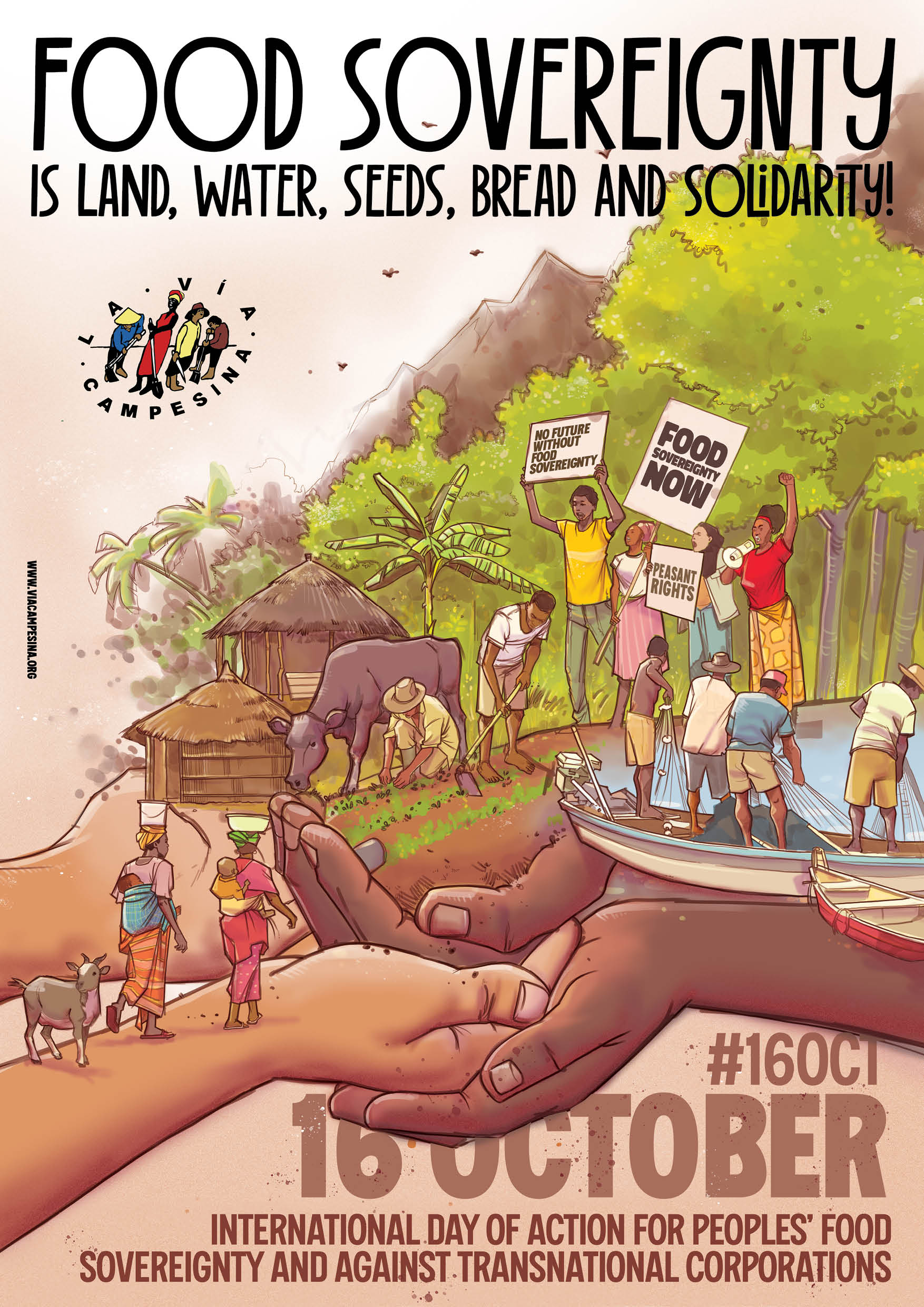 oster food sovereignty day poster