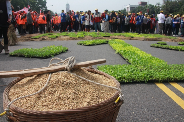 Taiwan, Farmers call on public to join protest in Taipei