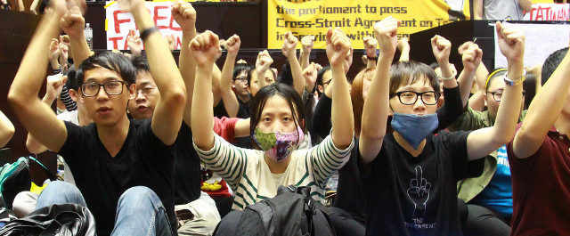 Sunflower Revolution In Taiwan Stop Police Brutality No To Free