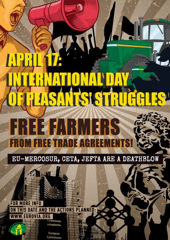 April 17 Ecvc To Organise Demonstration Against Free Trade