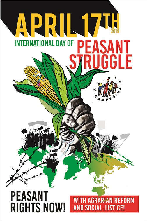 """April 17th, 2019 – """"The Declaration on Peasants' Rights"""