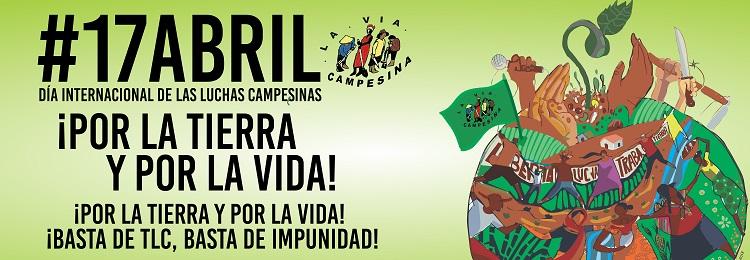 Resultado de imagen para Fotos de Día Internacional de las Luchas Campesinas.