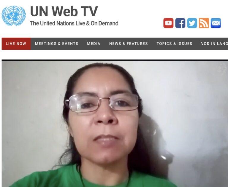 """La """"captura"""" de la Cumbre de la ONU sobre Sistemas Alimentarios, por parte  de la agroindustria, es denunciada en Consejo de Derechos Humanos - Via  Campesina"""
